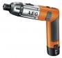 Отвертка аккум.SE 3.6 Li  AEG Винтоверты AEG SE 3.6 Li (413165)
