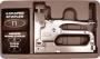 Степлер 4-14 мм Профи (4 в 1; в чемоданчике + скобы) под скобы шириной 10,6мм высотой 4-14 мм